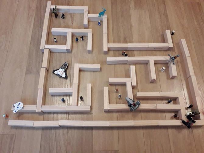 Charlie's maze!