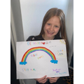 A lovely rainbow for your window Faye!