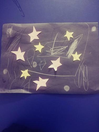 Maryam's night time space picture