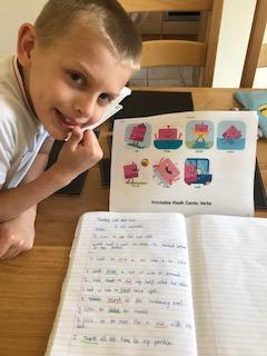 Jack's verb work!