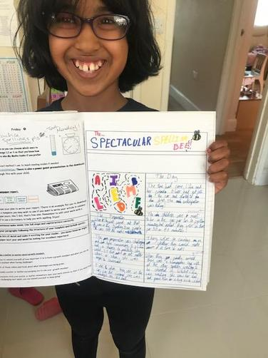 Lilia's growth mindset work