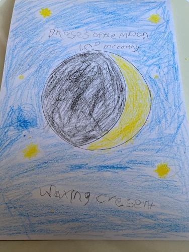 Leo's Crescent Moon