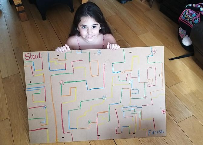Maria's mega maze!