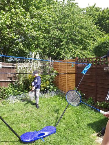 Oliver's sports skills!