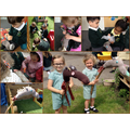 We made hobby horses as part of the 'Take one Picture' project
