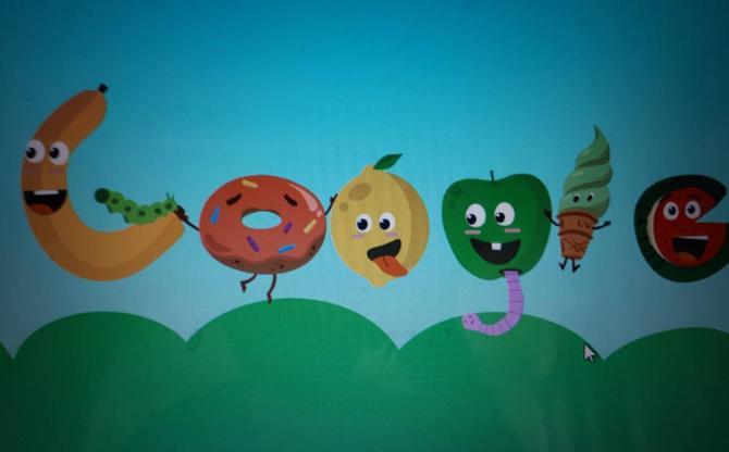 Oliver S's Google doodle!