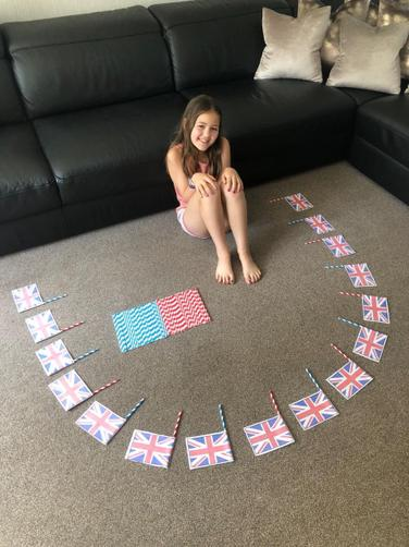 Faye's ready to celebrate!