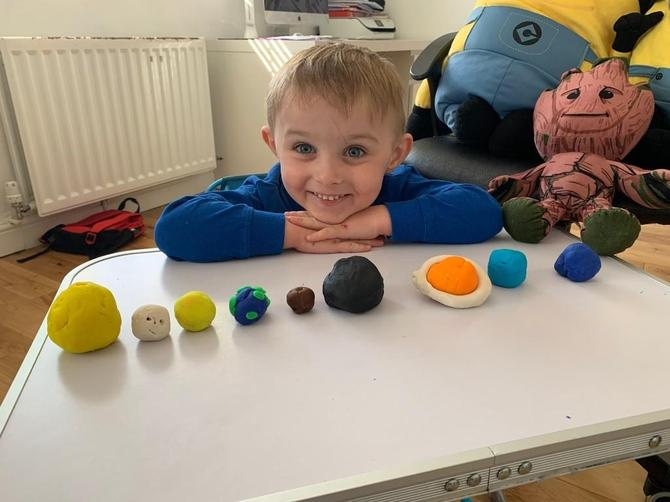 Ronnie's super planets