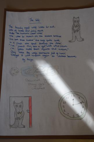 The Wolf by Paige and Keira