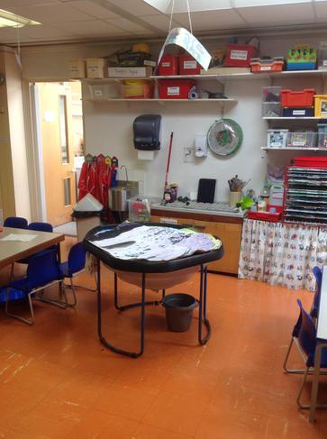Reception wet area