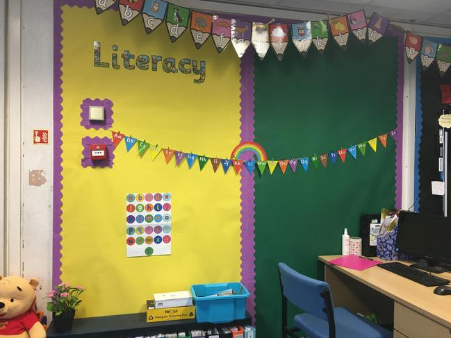 Our literacy wall