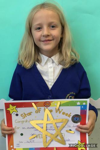 Introducting our first Star of the Week!