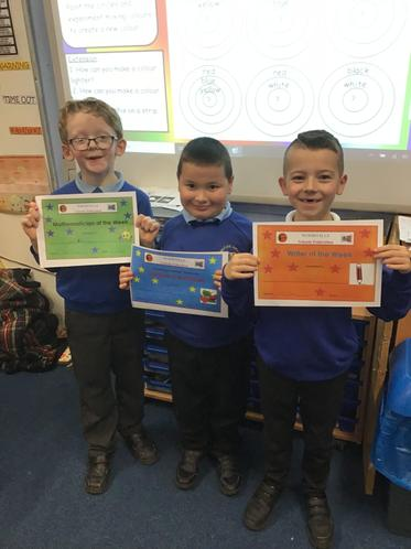 Stars of the week!! Well done!!