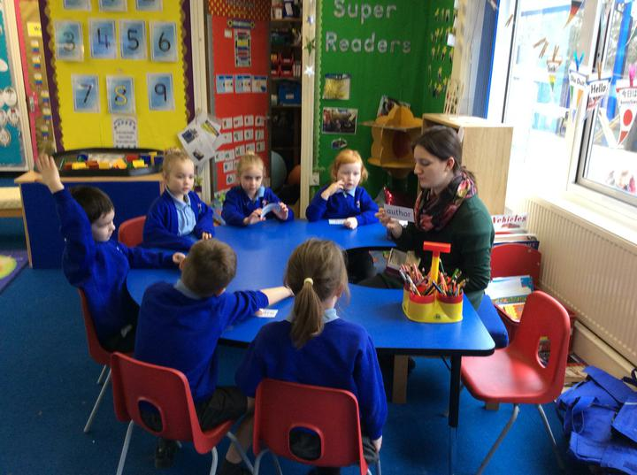 Guided reading with Miss Tooms