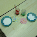 making wax resist sun catchers