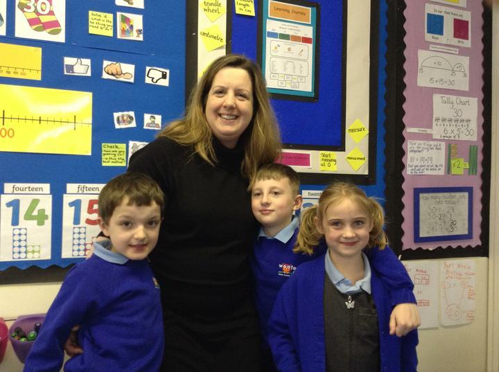School Governor Kate Harris
