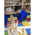 Building models with shaped blocks