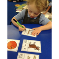 Finding initial sounds