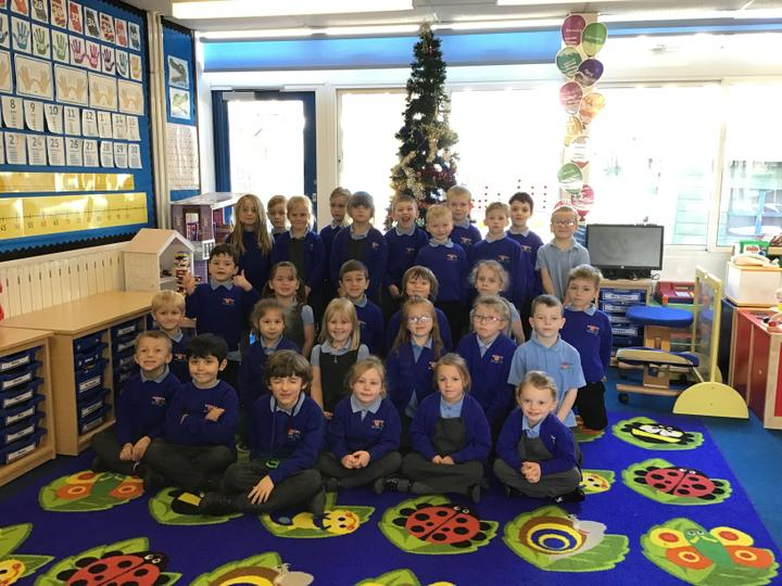 The Christmas excitement has begun! Flamingo Class have decorated the Christmas tree!