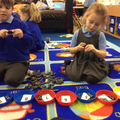 Domino counting and sorting