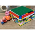 A brick house for 3 pigs