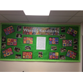 Our Year 3 display outside the classrooms