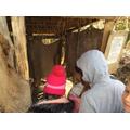 A Stone Age toilet!
