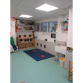Nursery creative area