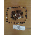 Natural sculptures inspired by Andy Goldsworthy