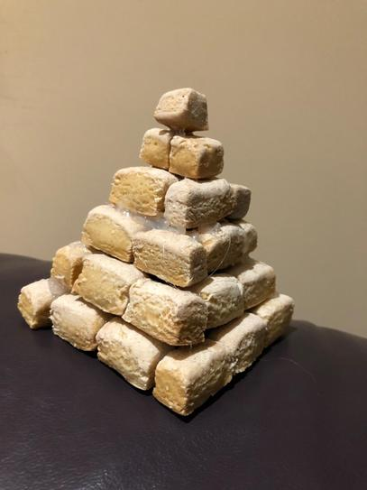 Homemade step pyramid!