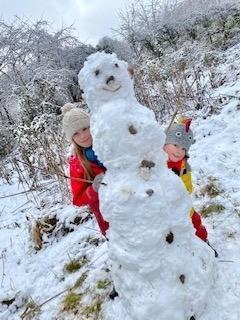 M's snowman