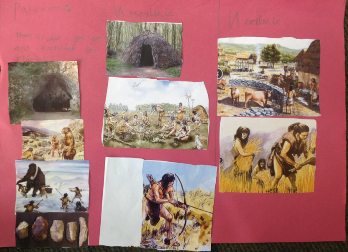 """""""They began to farm in the Neolithic period so stayed in one place!"""""""