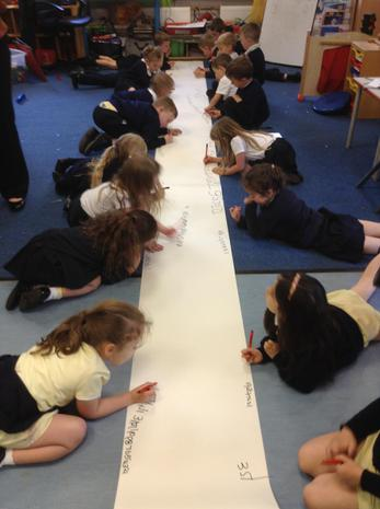 Lots of number writing!
