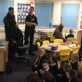 Class 1 & 2 recycling talk