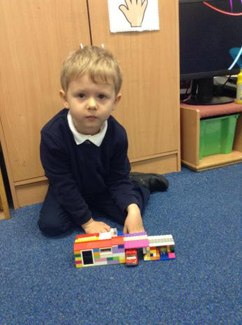 Harvey's brilliant lego house