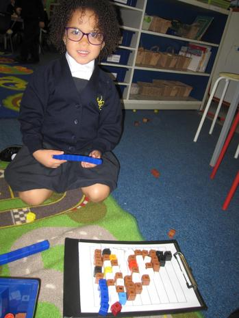 Counting and number recognition.