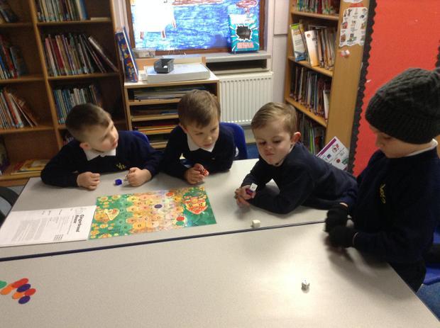We enjoyed maths games