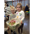 Toad Hall Nursery brought us some cakes!