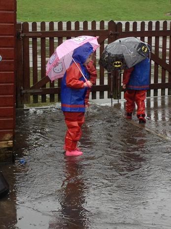 More rain, more fun!