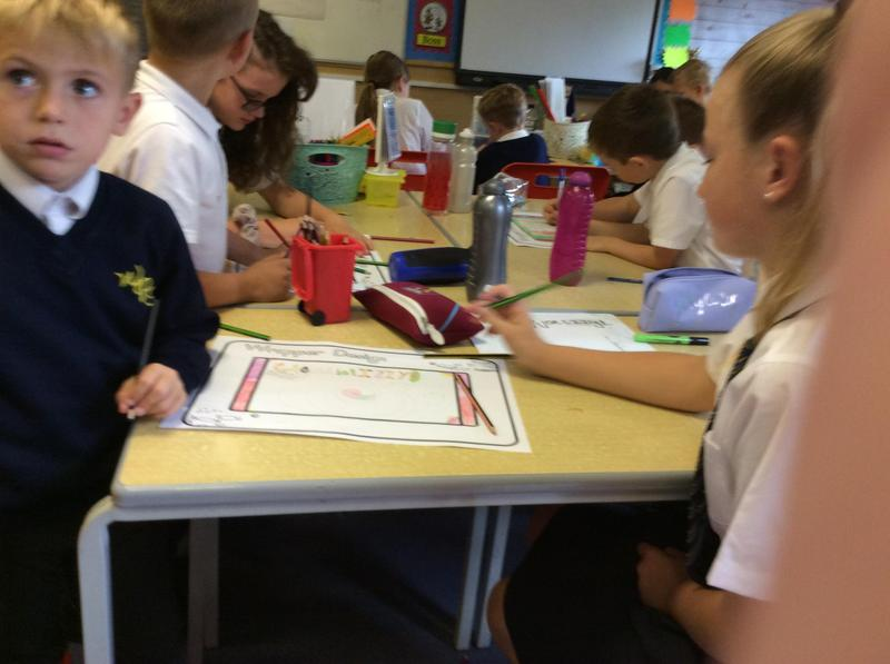 Meeting up another class to Read our favourite Roald Dahl Story