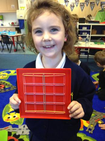 Exploring shape and pattern.