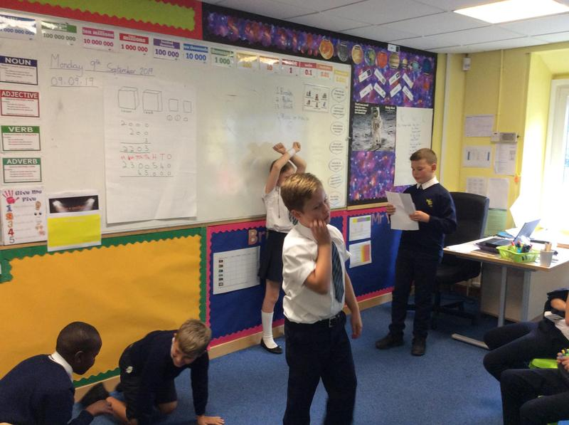 Drama and role play on The Twits