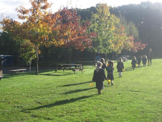 Autumn Walk - Spotting signs of Autumn
