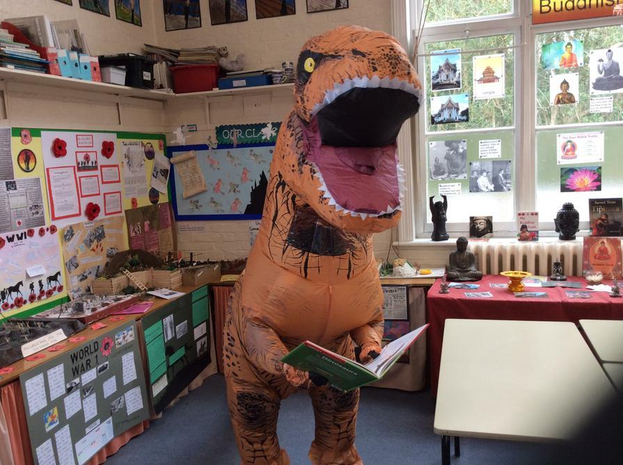 Jurassic Reads...