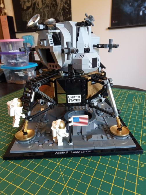 Apollo 11 Lunar Lander - Mr. Chapman