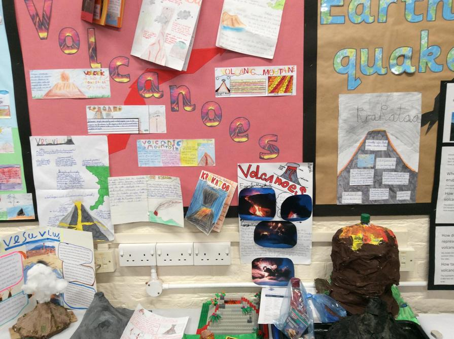 We researched famous volcanic eruptions