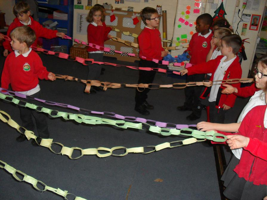 How long can you make it with 2 bits of paper?