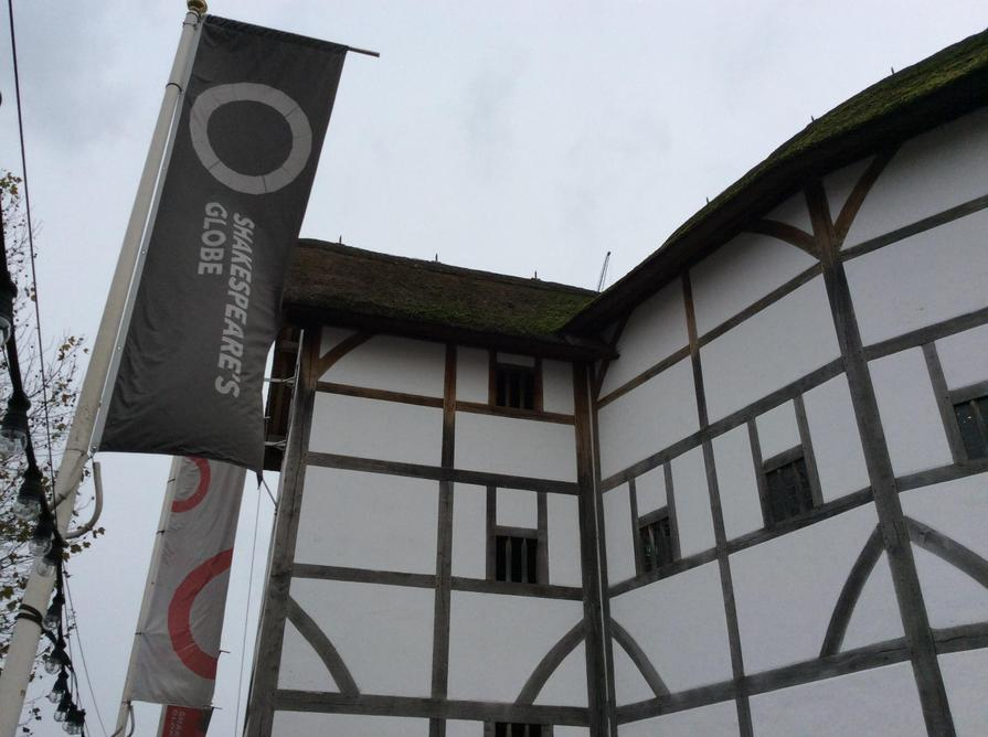 The Globe is the only thatched building in London.
