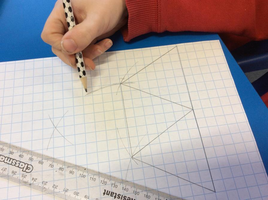 Equilateral triangles with a compass!