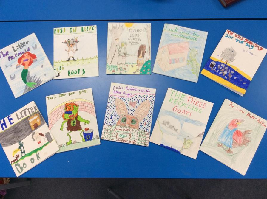 We wrote Eco Fairy Tales